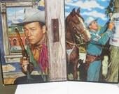 Vintage Roy Rogers Gene Autry Picture Puzzle