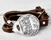 Faith & Grace Bracelet- Inspirational Jewelry- Toggle Wrap Bracelet- B468