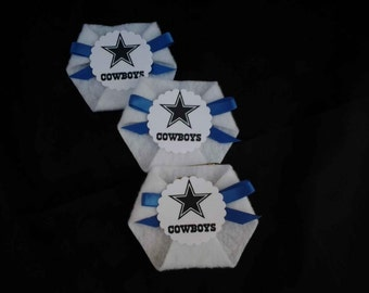 24pc dirty diaper game baby shower sport theme favors dallas cowboys
