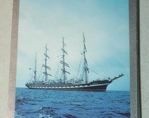 Tall Ship Schooner Sail Boat Playing Cards Deck Sailboat Nautical Games Swap Trade Crafts Altered Art Scrapbooking