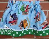Thomas the train girls skirt, Skirt, Thomas and Friends, Train skirt, Thomas skirt, Made to order 12 months, 18 months, 2, 3, 4, 5, 6