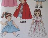 "Retro 1940s 18"" Doll Clothes  Butterick 6149"