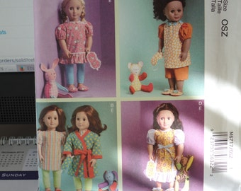 McCalls 6717-- 18 inch Doll clothes