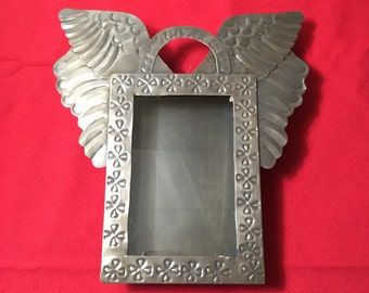 Large Rectangle Nicho With Wings