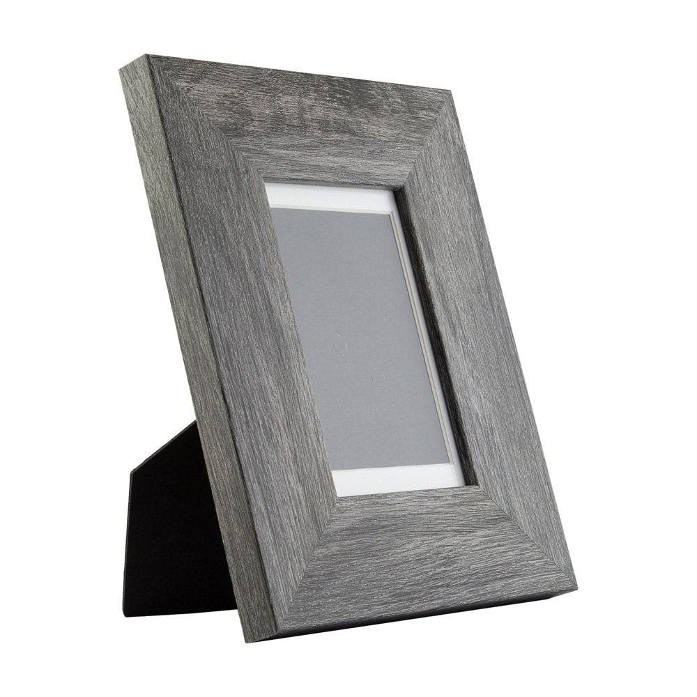 craig frames 4x6 inch modern gray picture frame mat with. Black Bedroom Furniture Sets. Home Design Ideas