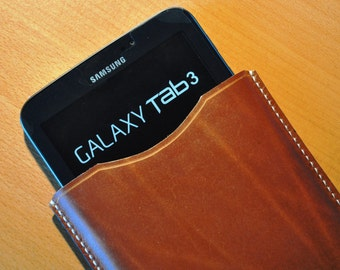 Leather case for Samsung Galaxy Tablet