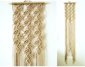 Macrame Wall Hanging - Sprigs #1 - Handmade Macrame Home Decor by Evgenia Garcia