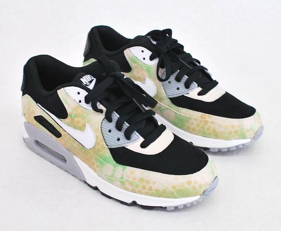 Items similar to Custom Camo Nike Air Max 90 Running Shoes