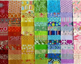 "Single Rainbow Charm Pack (84 x 5"" squares)"