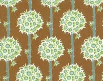 115cm Lauren & Jessi Jung Botany (Topiary/brown) 100% Cotton