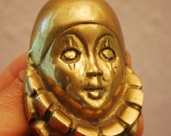 ANTIQUE BRASS MASK