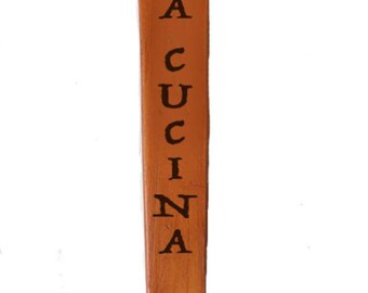 Nonna's Italian Wooden Spoon Kitchen Decor