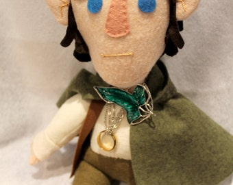 LotR Frodo Baggins plush toy