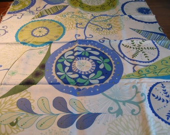 Wrenly by Valori Wells. Cobalt blue, FQ. 1/2 yard available