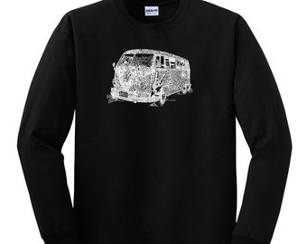 Men's Long Sleeve T-shirt - The 70's