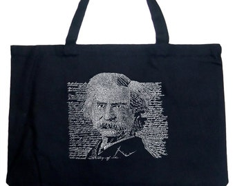 Large Tote Bag - Mark Twain