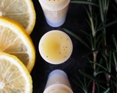 Organic Lip Balm - Rosemary Lemonade - Grandma's Recipe Raw Herbal