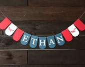 Airplane Birthday Party Banner