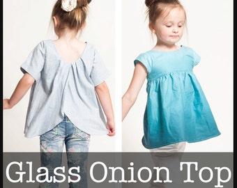 Glass Onion Top PDF Sewing Pattern