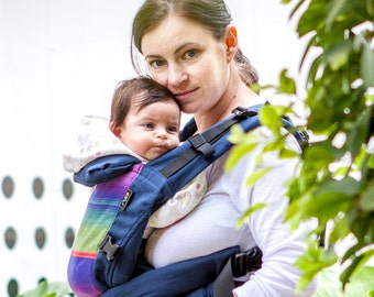 LIGHT version!!! New ergonomic soft carrier backpack for babys from NB till 5 y. Perfect for hot weather