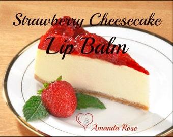 Strawberry Cheesecake Flavored Lip Balm