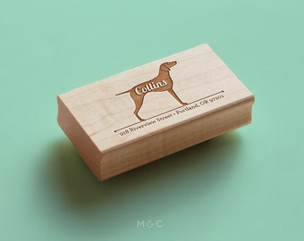 Vizsla - Personalized Address Stamp