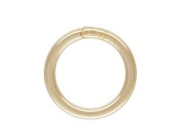 14k Gold Filled (4mm, 5mm, 6mm,7mm) 22ga Closed Jump Rings