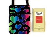 iPhone 6 Plus Cross Body Bag, Small Purse, Sling Bag, Cell Phone Purse