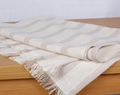 Runner,Table top ,Home decor,natural cotton ,eco friendly