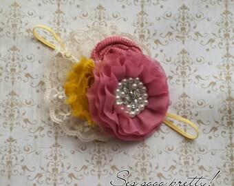 Rosettes headband or clip