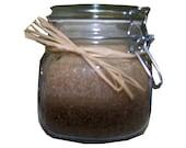 Jar candle for men