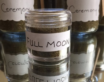 Full Moon special blend in small jar .03oz) Made by Lozen BrownBear/