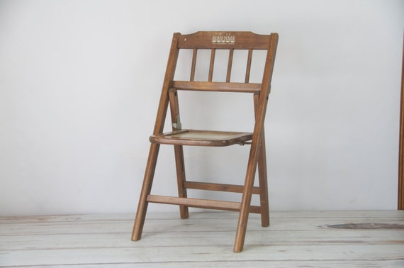 Babee Tenda Folding Childs Chair Circa 1950
