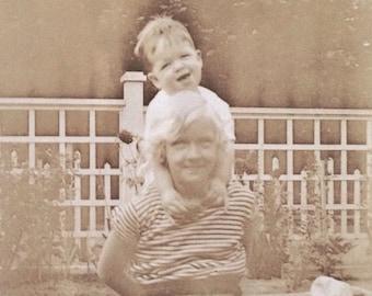 Original Antique Photograph Anna & Tom 1932