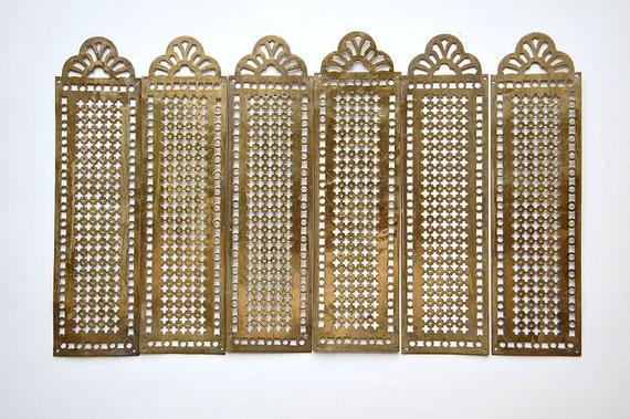 vintage french brass door plates finger plates push plates. Black Bedroom Furniture Sets. Home Design Ideas