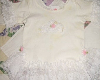 Frilly 90's Baby Girl's Dress