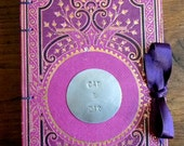 OPTION: Round Metal Plate add on for Guestbook, Upgrade