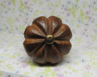 Wooden Drawer Knob Wine Bottle Stopper