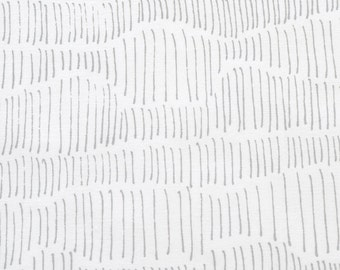 Tapestry in Pale Grey : organic cotton