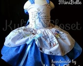 Cinderella MiniBelle Ruffle Dress for Girls - Fairytale - Pageant - Birthday - Party - Princess - Celebration - Special Occasion