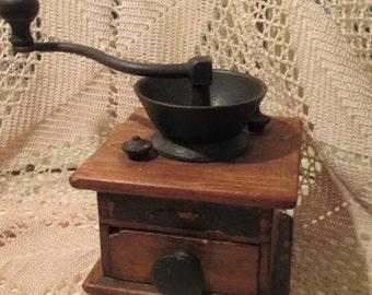 Antique Charles Parker Co. Coffee Grinder