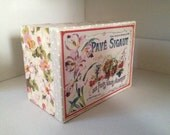 French Advert/Display vintage style light Box Ornament