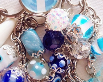 Argentina pride vacation keychain purse clip