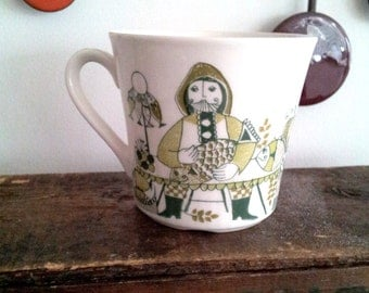 Turi Design Mug Figgjo Lotte Vintage Norway Mid Century MOD Scandinavian