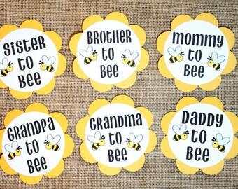 Bee Theme Gender Reveal