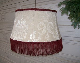 Fringed Floor Lamp Shade