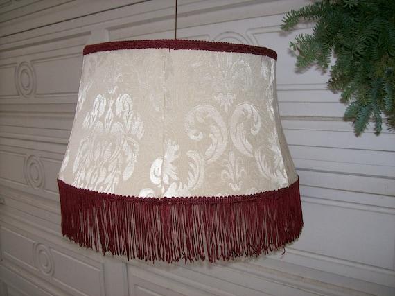 fringed floor lamp shade. Black Bedroom Furniture Sets. Home Design Ideas