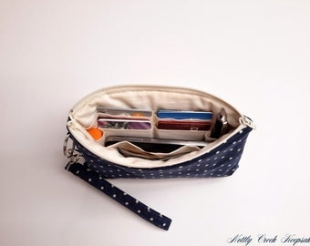 ADD ON / Add on Credit Card Pockets to Wristlet Wallet / Customize your Wristlet Wallet /  This Listing is to Add Credit Card Pockets