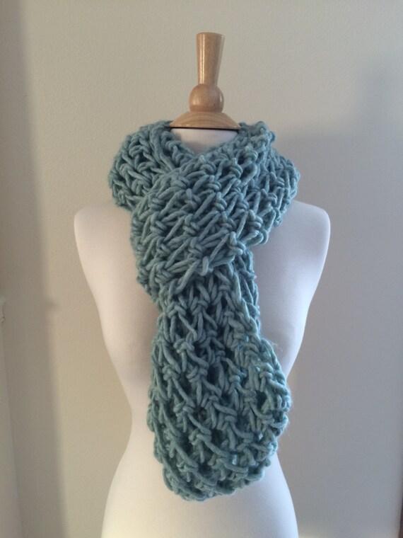 DIY Crochet Pattern: Roving Infinity Scarf easy crochet P D