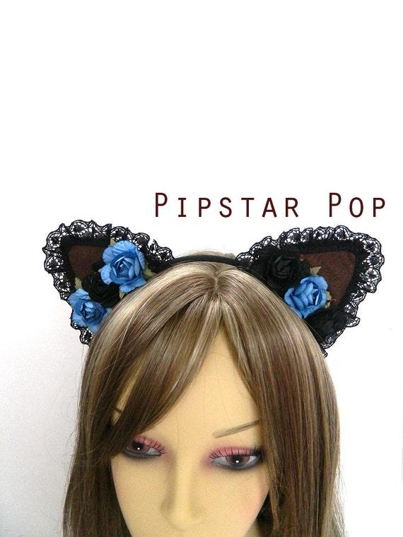 Gothic Cat Ear Headbands